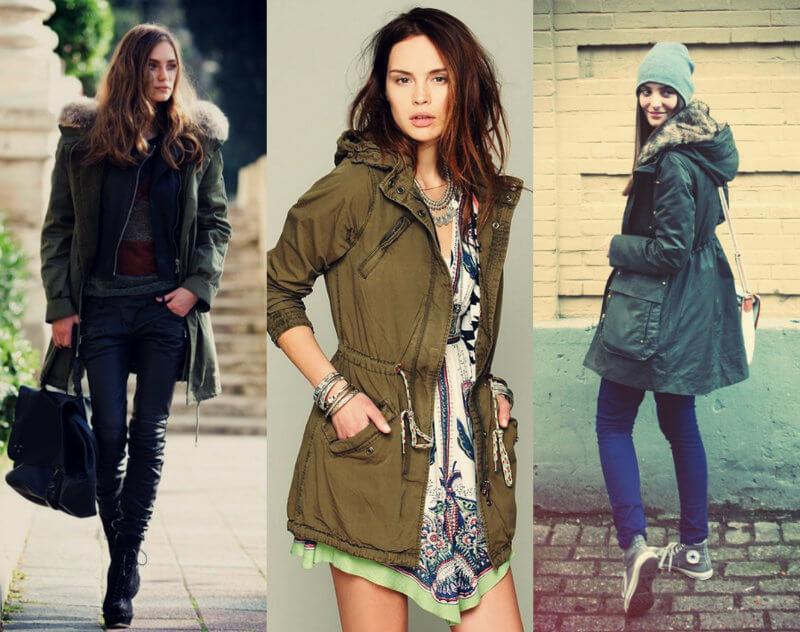 Как и с чем носить женскую парку - Блог/Фаворитти