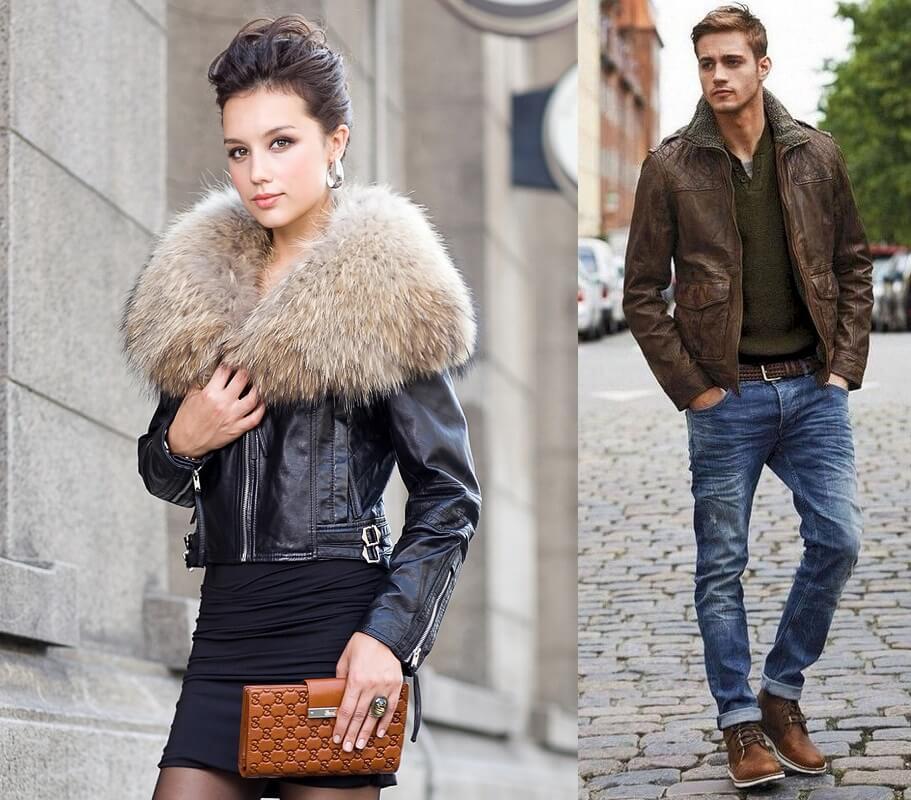 Отличие дизайна женских и мужских курток - Модные рекомендации