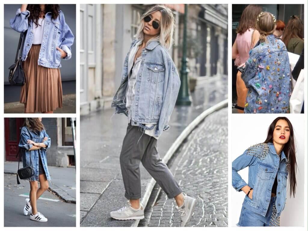 Модные тенденции 2018-2019 года - Джинсовые куртки. Модные рекомендации