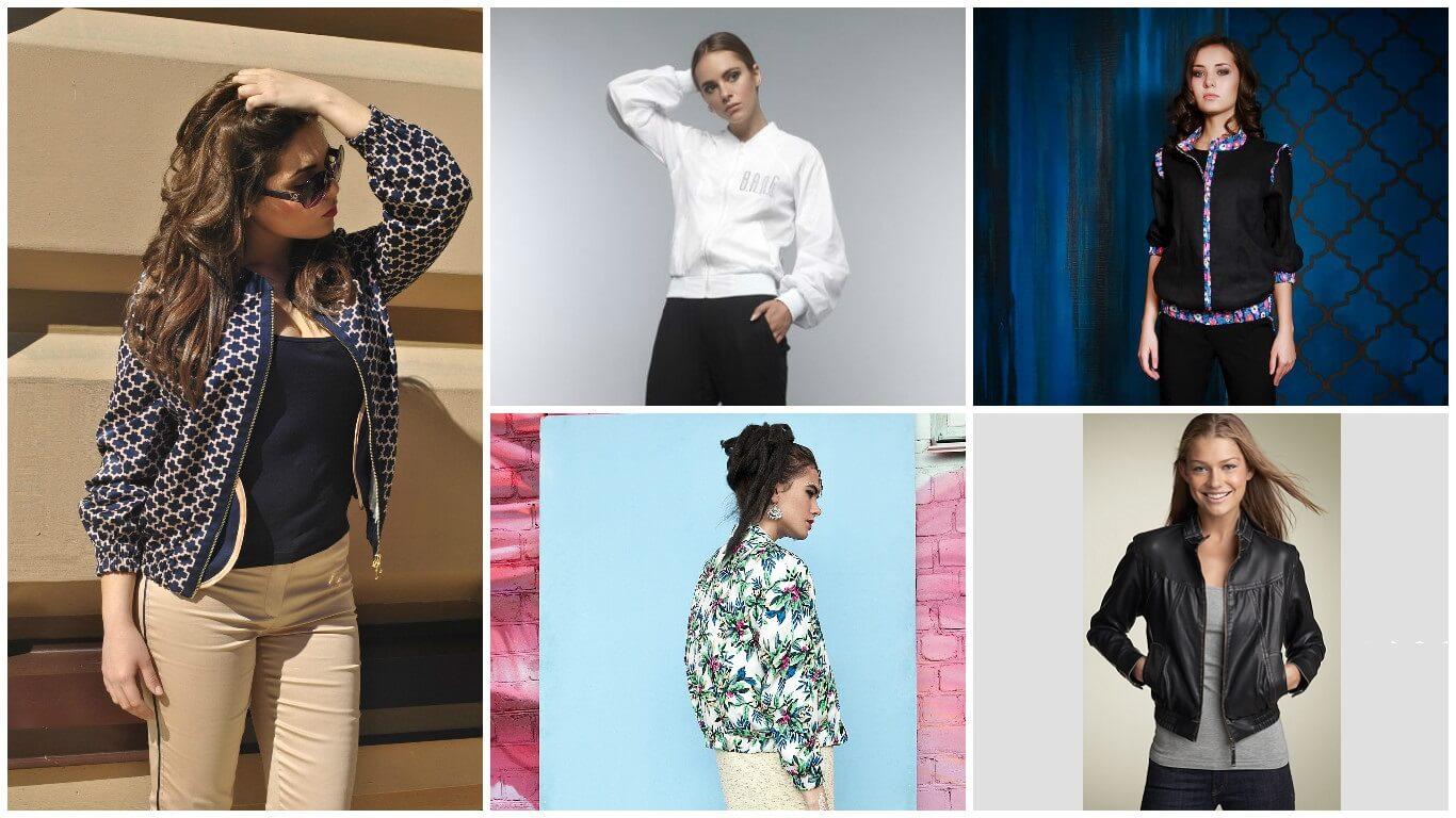 Модные тенденции 2018-2019 года - куртки-бомберы. Модные рекомендации