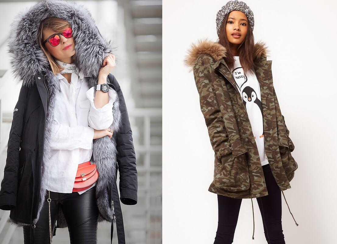 Модные тенденции 2018-2019 года - куртки Парки. Модные рекомендации.