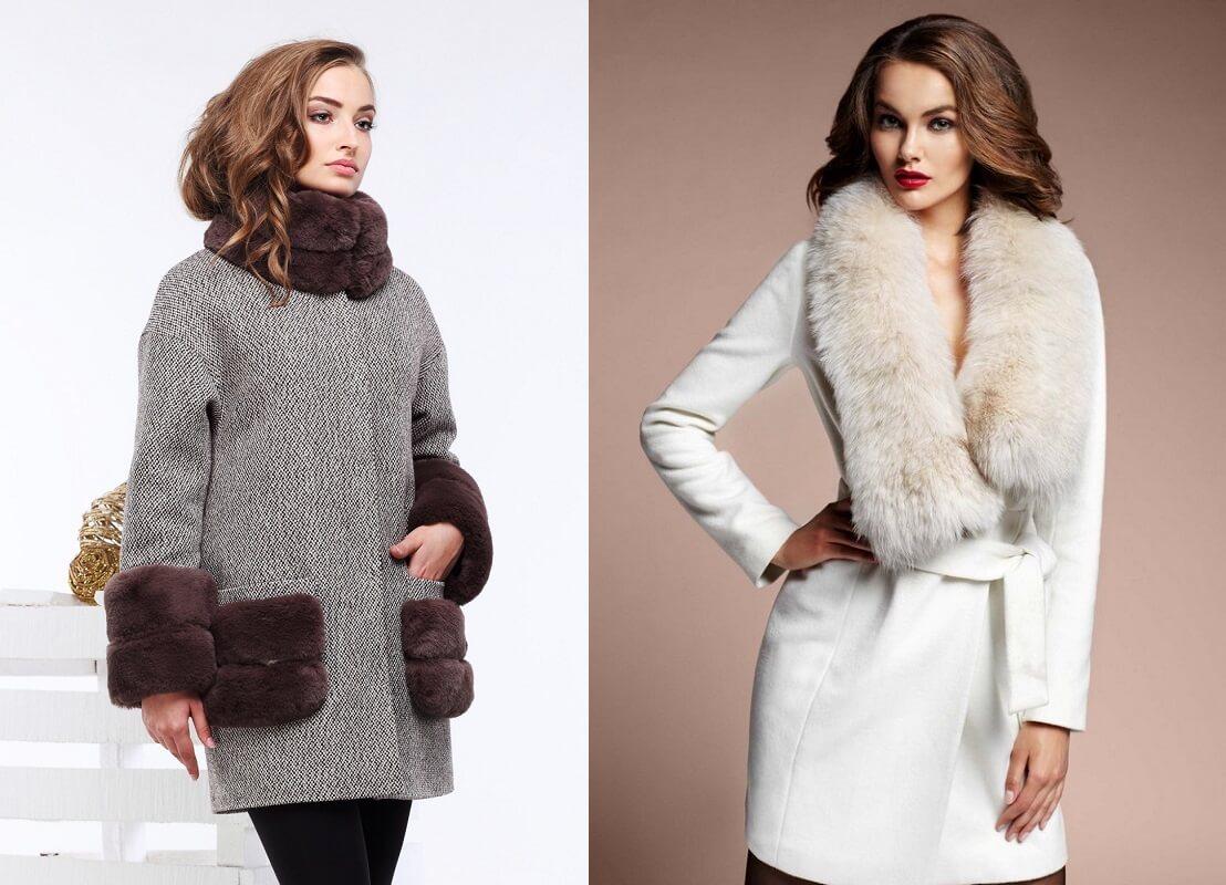 Женское зимнее пальто с мехом: правила выбора