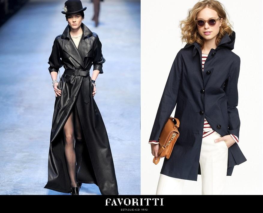 Как сшить модный женский плащ - Модные рекомендации - Выбор материала для плаща