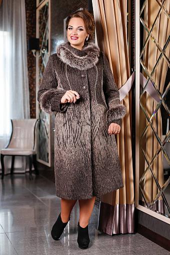 Купить Зимнее Пальто П-713(н м) Тк.пальт.Sanaz- C Тон 108 — Цена  4169грн.  — Favoritti (Фаворитти) 4ab6453f78e8c